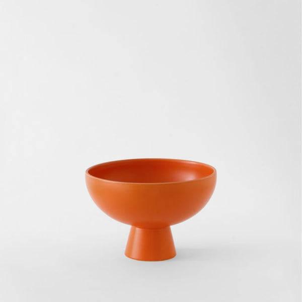 Strøm - medium bowl - vibrant orange