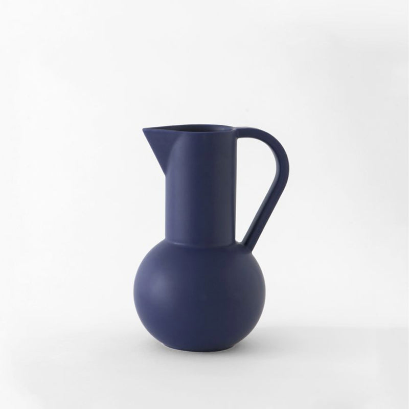 Strøm - medium jug - blue