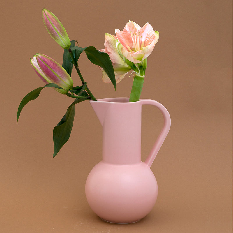 Strøm - Medium Jug - Coral Blush