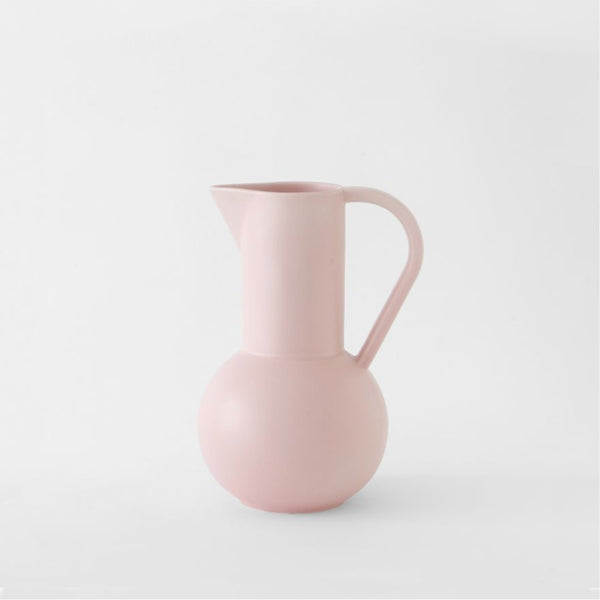 raawii Strøm - Medium Jug Jug Coral Blush