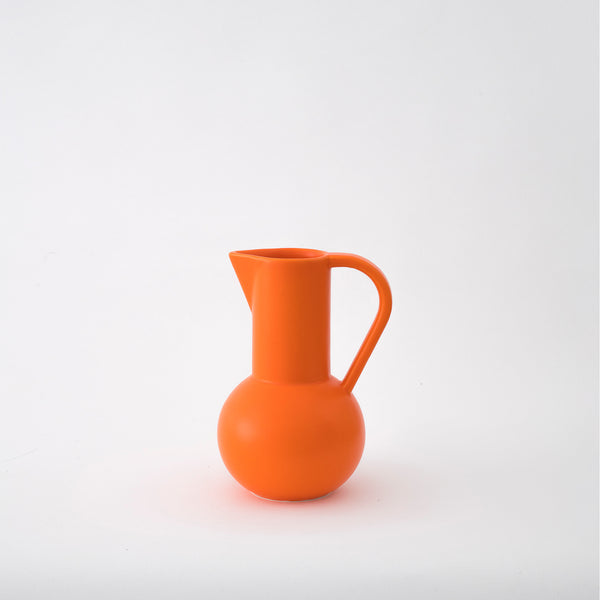 Strøm - small jug - vibrant orange