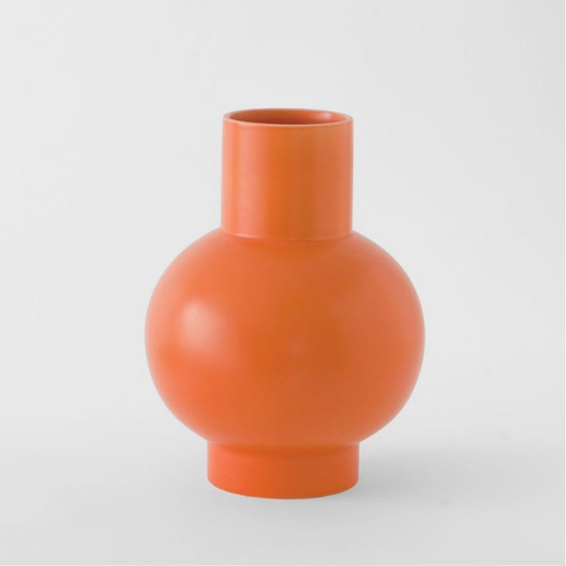 Strøm - XL Vase - Vibrant Orange