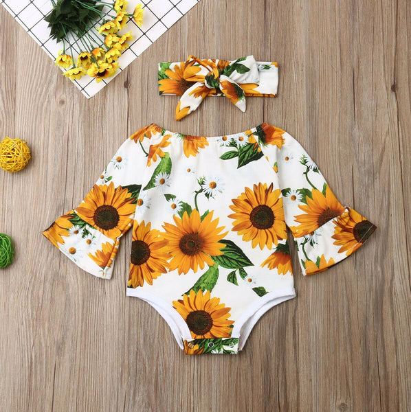 Sunflower Two Piece Outfit