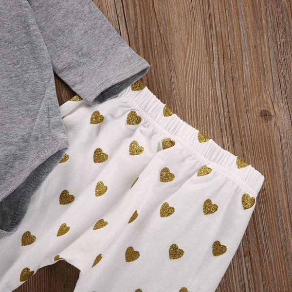 Golden Hearts 3 Piece Outfit