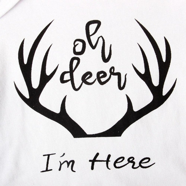 Oh Deer, I'm Here 3 Piece Outfit