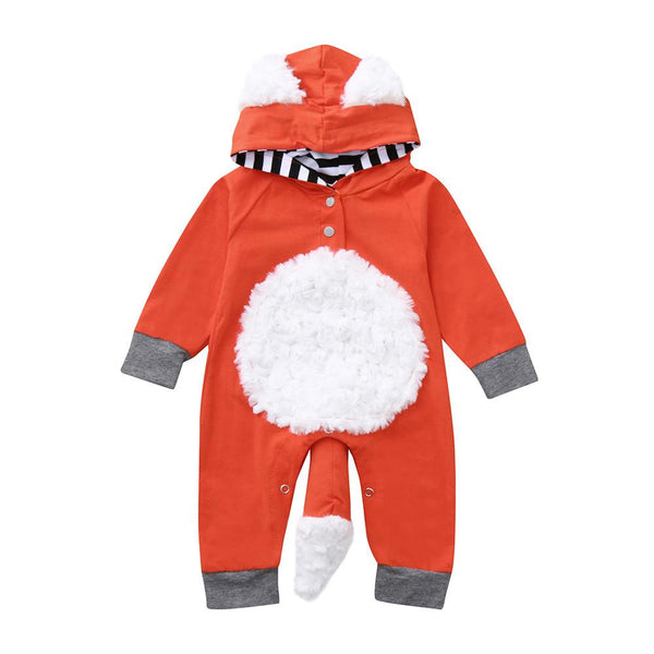 Fluffy Red Fox Halloween Costume