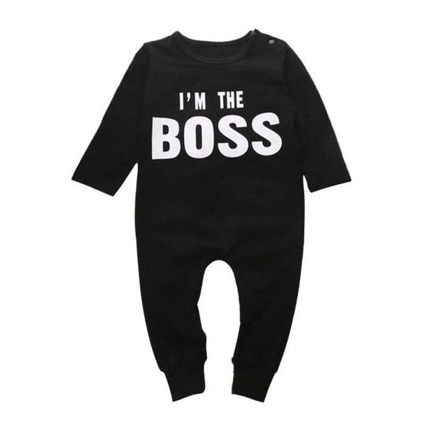 I'm The Boss Full Length Jumpsuit