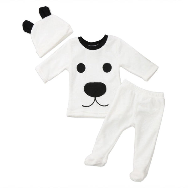 Happy Polar Bear 3 Piece Outfit