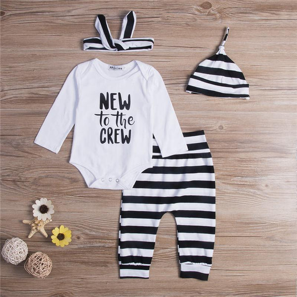 New To The Crew 4 Piece Outfit