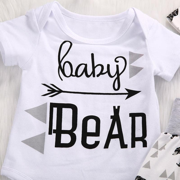 Baby Bear 3 Piece Outfit