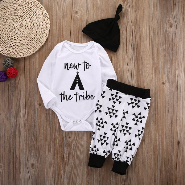 New To The Tribe 3 Piece Outfit