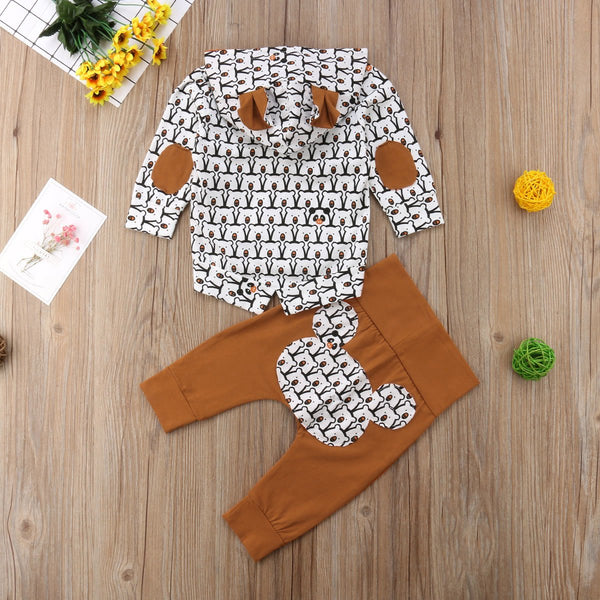 Baby Bear Hoodie Sweater & Pants