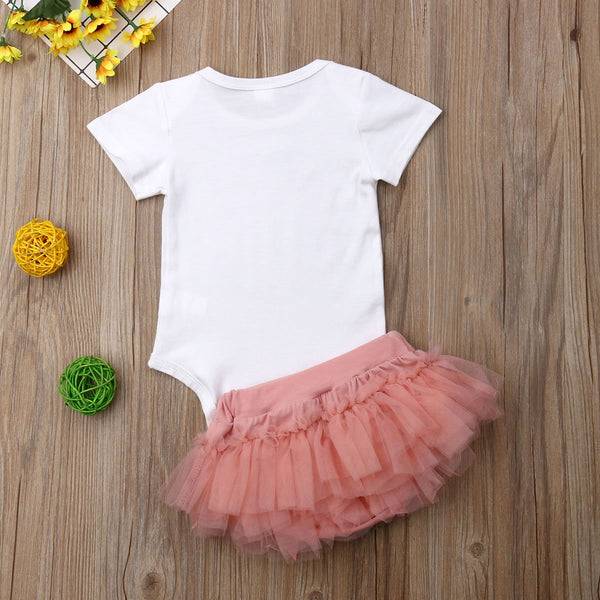 Romper & Tutu Two Piece Outfit