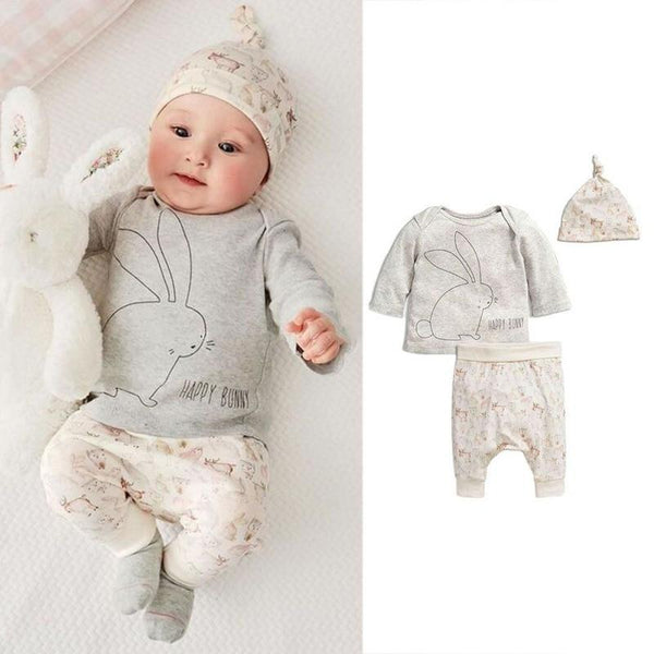 Happy Bunny 3 Piece Outfit