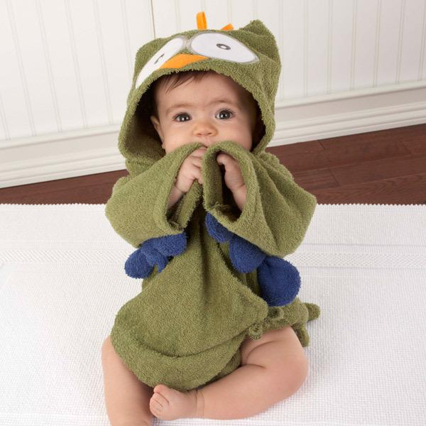 Cute Animal Hood Bathrobe