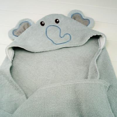 Animal Hood Cotton Towel