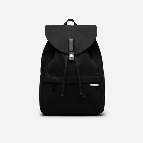 The Modern Twill Single Snap Backpack – Large