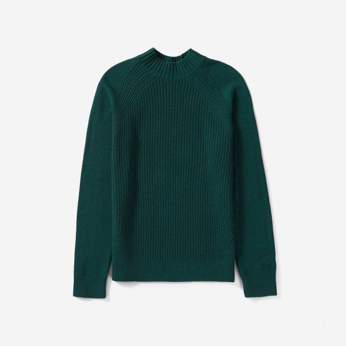 The Wool-Cashmere Rib