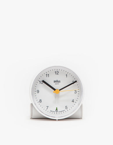 BNC001 Alarm Clock in White