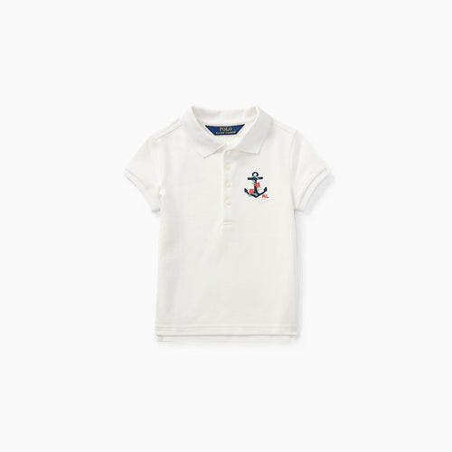 Anchor Mesh Polo Shirt