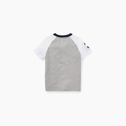 Cotton Jersey Henley Shirt