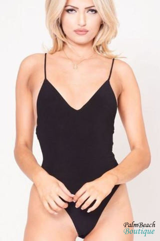 Off-the-shoulder flounce bodysuit
