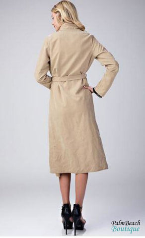 Lightweight Trench Coat - Womens Coats & Jackets