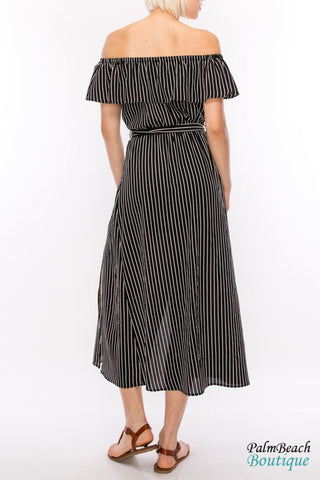 Maxi Dress Off Shoulder - Dresses