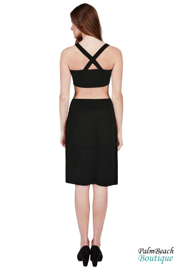 Ribbon Top Bustier(Woven) - Womens Tops