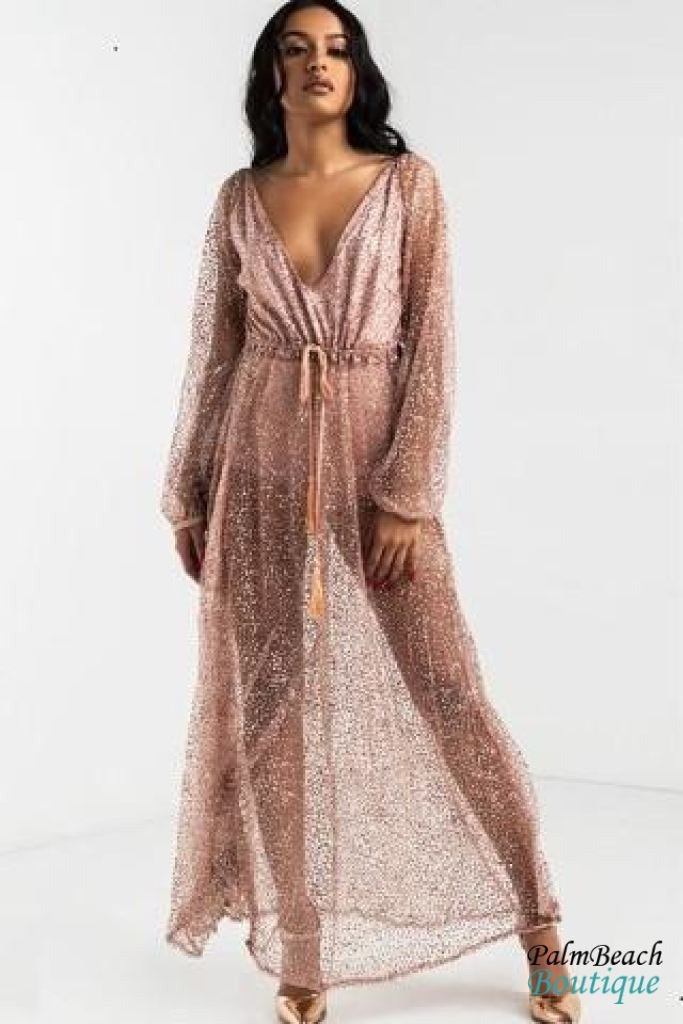 Sparkles Maxi Dress - Dresses
