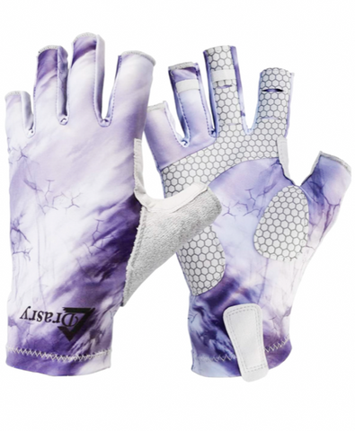 Premium Jigging Gloves UPF & SPF 50 Breathable Pull-On