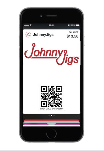 Johnny Jigs Gift Card