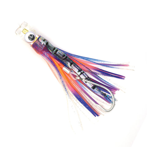 Orange/Purple Trolling Lure 9""