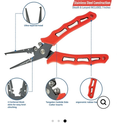 Heavy Duty Split Ring Pliers