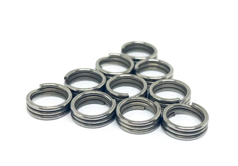10-Pack Triple Wrap Super Split Rings