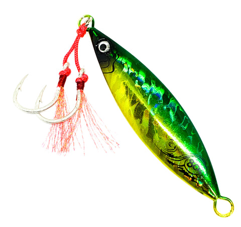 FIRE Jig Green/Gold 60g, 80g, 100g