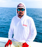 Long Sleeve UV Hooded Fishing Shirt