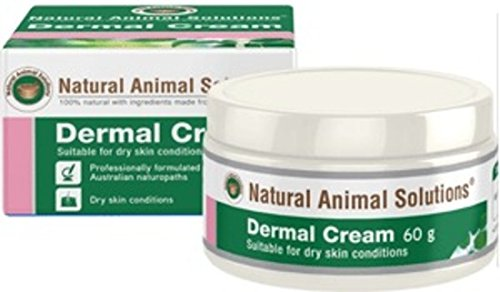 Natural Animal Solutions Dermal Cream 60g, WooforWuff