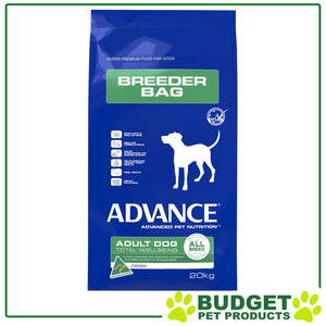Audza Advance All Breed Chicken Adult Dry Dog Food 20Kg, WooforWuff