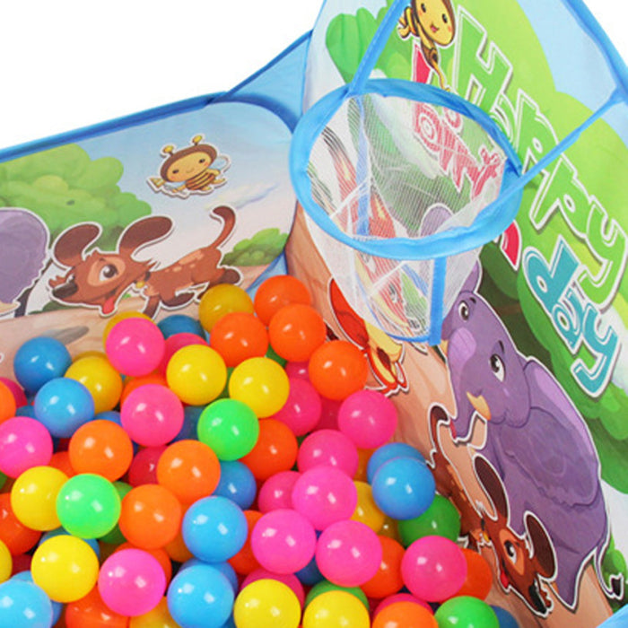0.9m 4 Edge Baby Ocean Ball Tent Basketball Pool Ocean Ball  The Game Basketball Pool Toys for children