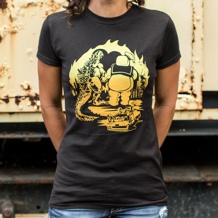 Ladies A Puft Zilla Moment T-Shirt