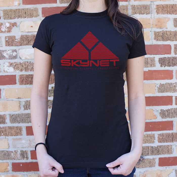Ladies Skynet Cyberdyne Systems Corporation T-Shirt