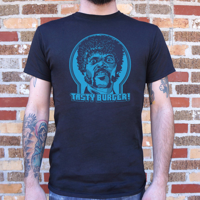 Mens Tasty Burger T-Shirt