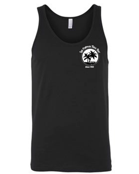 Unisex Black Tank Top T-Shirt