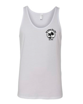 Unisex White Tank Top T-Shirt