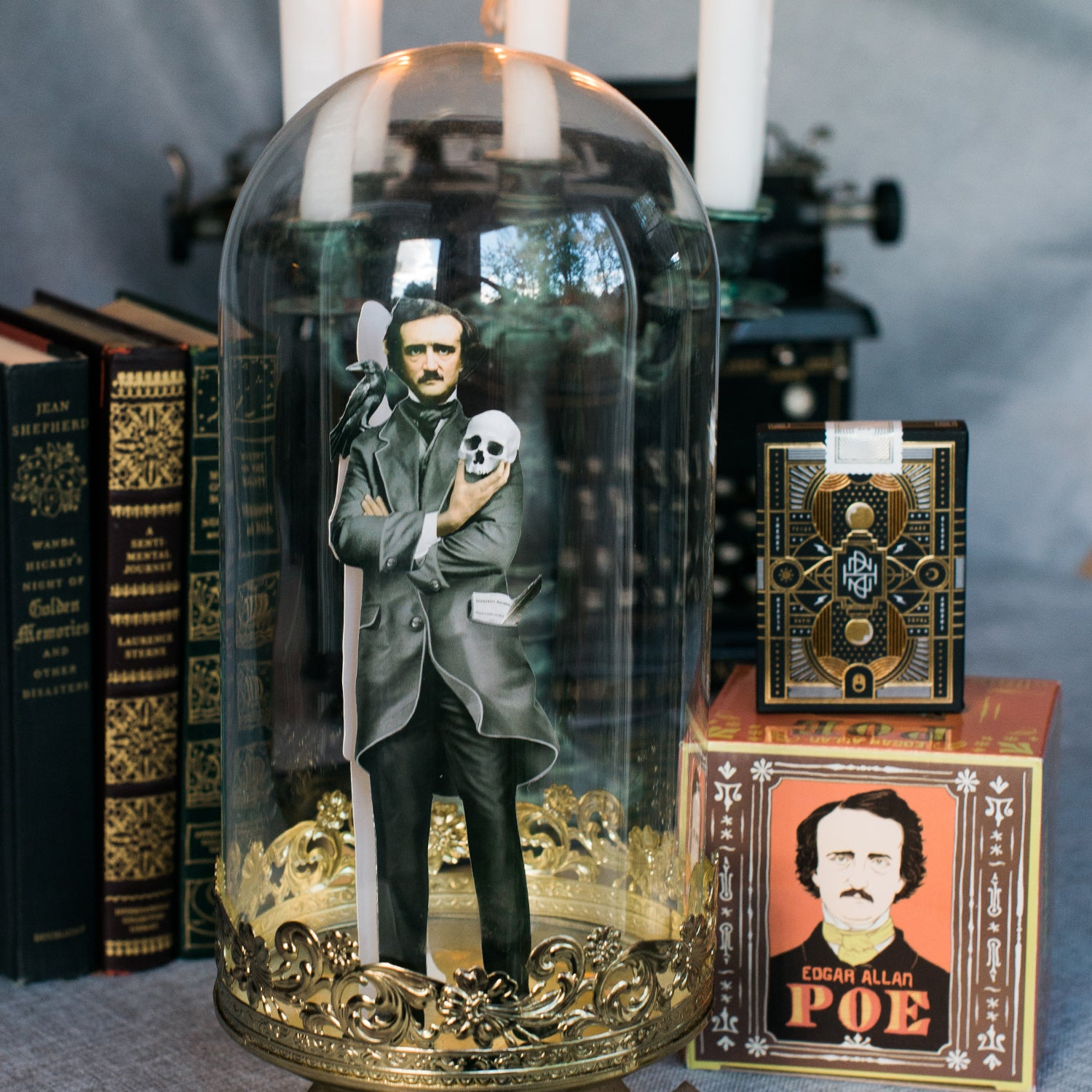 Edgar Allan Poe Nevermore Gift Box Unique Gift For Book Lover My Weekend is Booked