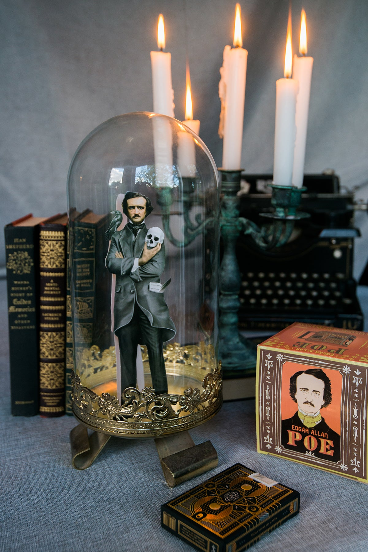Edgar Allan Poe Gift Box Unique Gift For Book Lovers My Weekend is Bookd