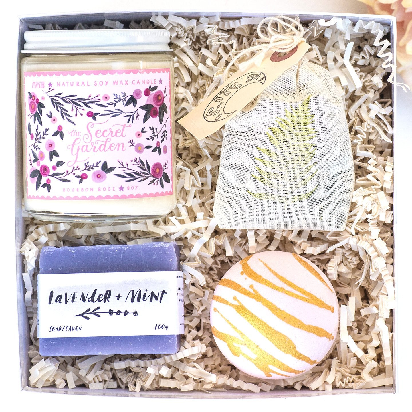 secret garden gifts for her wellness gift box my weekend is booked