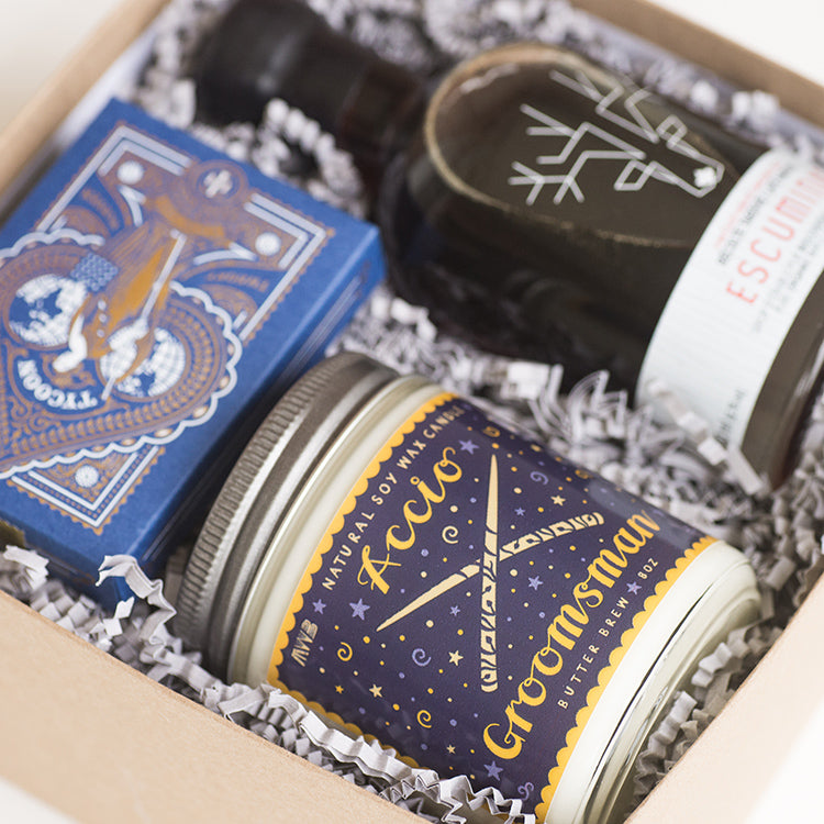 Luxury-groomsman-gift-harry-potter-wedding-gift-box-artisan-gift