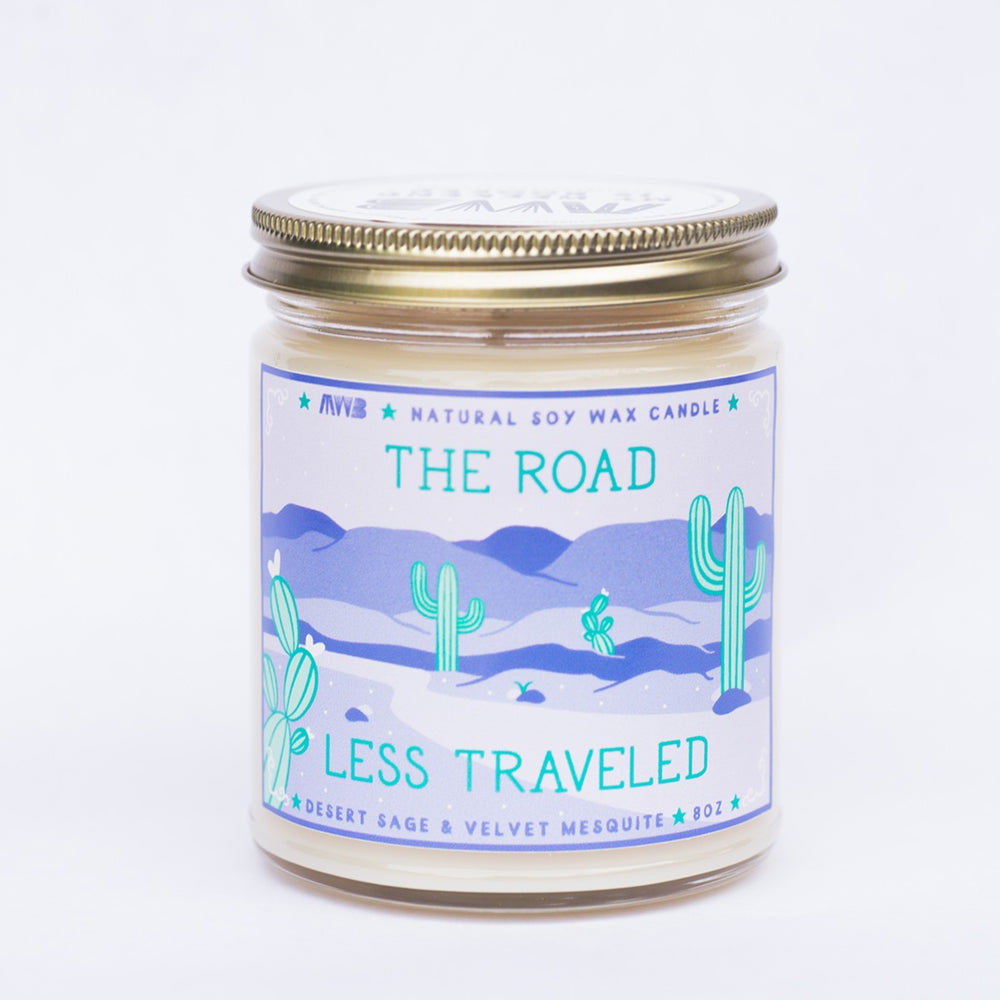 The Road Less Traveled Soy Candle